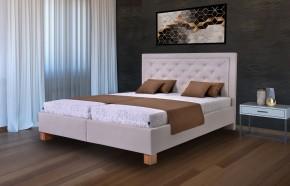 Čalouněná postel Elizabeth 180x200,vč.mat,pol.roštu,úp Z EXPOZICE