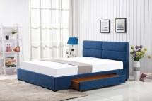 Čalouněná postel Hudson 160x200, včetně roštu a ÚP, bez matrace