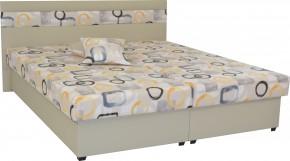 Čalouněná postel Mexico 180x200, béžová, včetně úp + dárek 2 polštáře