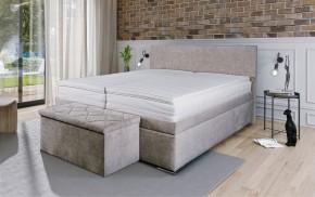Čalouněná postel Rory 180x200, vč. mat., roštu a úp II. jakost