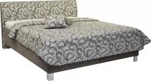 Čalouněná postel Sahara 180x200, vč. roštu a úp, bez matrace