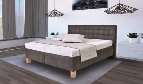 Čalouněná postel Victoria 180x200, vč. matrace - II. jakost