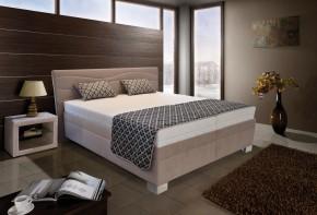 Čalouněná postel Windsor - 180x200,motorový rošt (amore 25 beige)