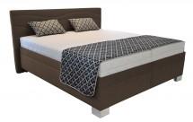 Čalouněná postel Windsor 180x200, vč. výkl. roštu a matrace