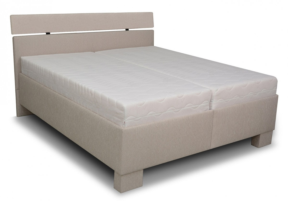 Čalouněné postele Čalouněná postel Antares 180x200, vč. matrace, poloh. roštu a úp