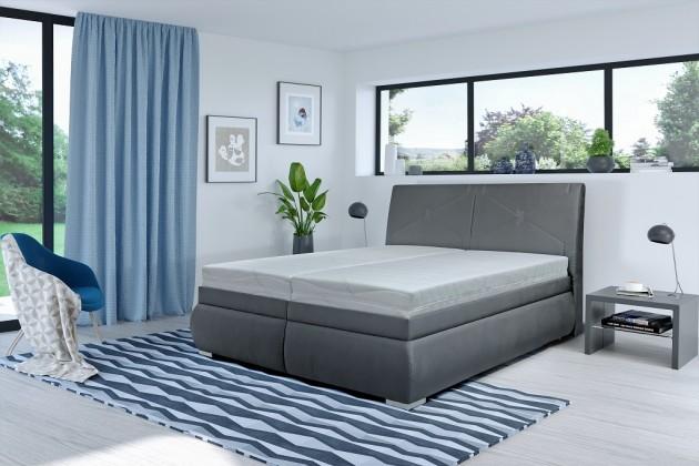 Čalouněné postele Čalouněná postel Arte 180x200, vč. matrace, poloh. roštu a úp