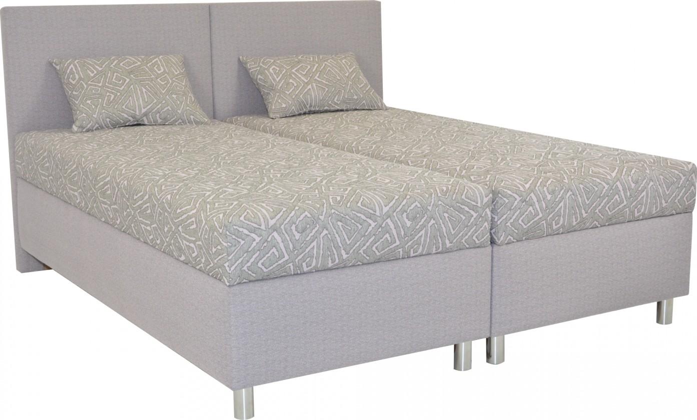 Čalouněné postele Čalouněná postel Colorado 160x200, růžová, vč. matrace a úp