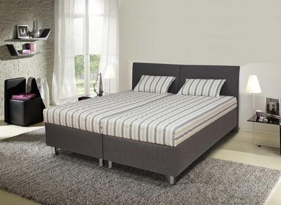 Čalouněné postele Čalouněná postel Colorado 180x200, šedá, vč. matrace, roštu a úp