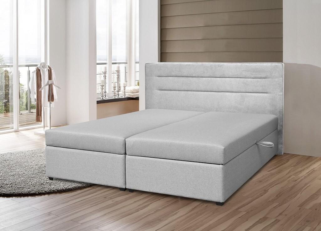 Čalouněné postele Čalouněná postel Elodie 180x200, vč. mat. a ÚP