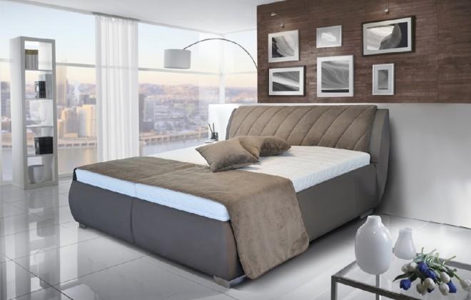 Čalouněné postele Čalouněná Postel Grosseto 180x200, rošt, bez matrací