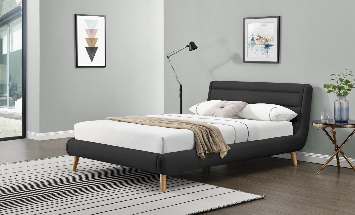 Čalouněné postele Čalouněná postel Helena 160x200, vč. roštu, bez matrace a úp