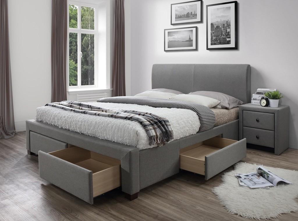 Čalouněné postele Čalouněná postel Marion 160x200, vč. roštu a úp, bez matrace