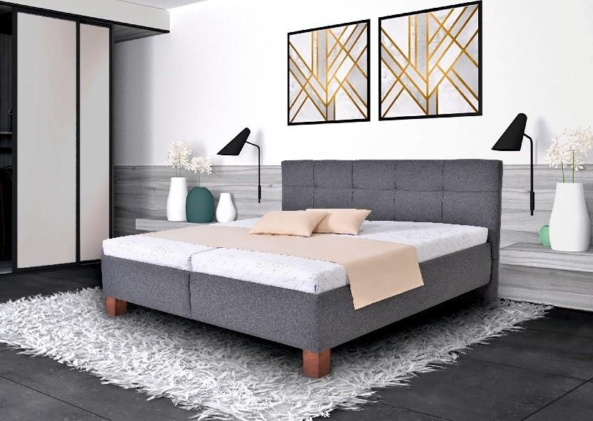 Čalouněné postele Čalouněná postel Mary 160x200 vč. matrace, pol. roštu a ÚP