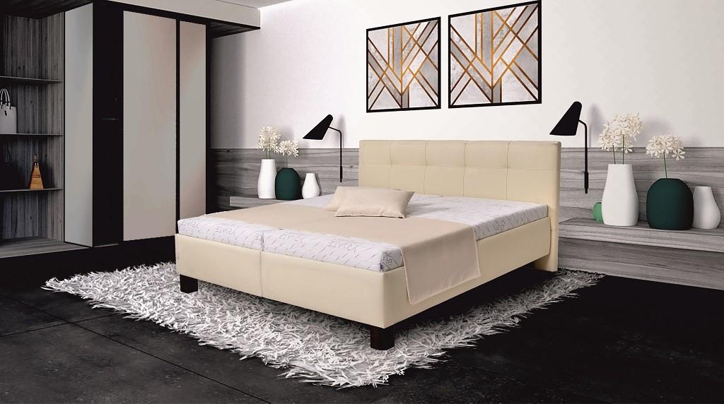 Čalouněné postele Čalouněná postel Mary 180x200, vč. matrace, pol. roštu a ÚP