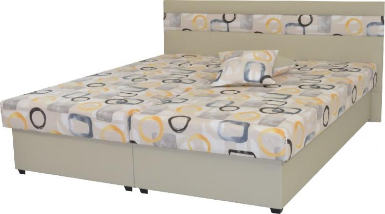 Čalouněné postele Čalouněná postel Mexico 180x200, béžová, včetně úp