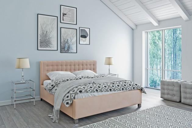 Čalouněné postele Čalouněná postel Monte Negro 160x200 vč.roštu a úp, bez matrace