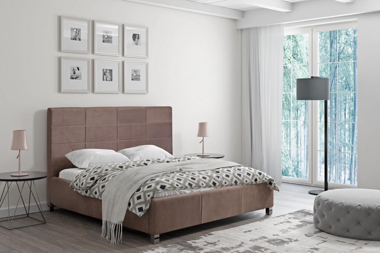 Čalouněné postele Čalouněná postel San Luis 180x200 vč.roštu a úp, bez matrace