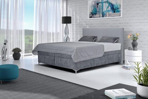 Čalouněné postele Čalouněná postel Sonia 180x200, vč. matrace, pol. roštu a úp