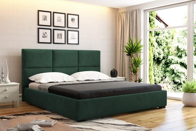 Čalouněné postele Čalouněná postel Storione 160x200 vč.roštu a úp, bez matrace