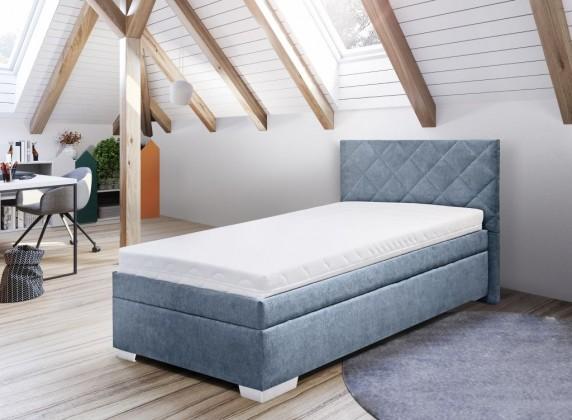 Čalouněné postele Válenda  Luis 90x200, vč. matrace, polohovacího roštu a úp
