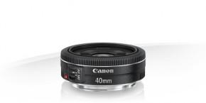 Canon EF 40mm f/2.8 STM objektiv + čistící pero LENSPEN