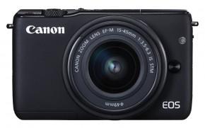 Canon EOS M10, černá