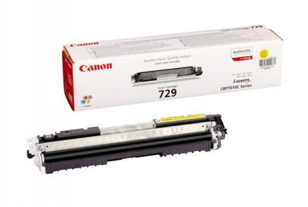 Canon toner CRG-729Y, žlutý (CRG729Y) 4367B002