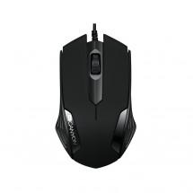 Canyon CNE-CMS02B, optická myš, USB, černá,