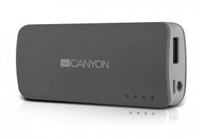 Canyon CNE-CPB44 Power Bank 4400mAh, šedá