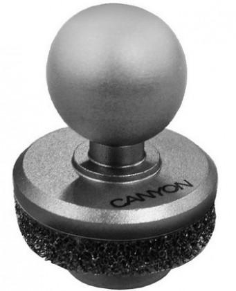 CANYON kovový mini Joystick pro smartphony, stříbrný CNE-CJSS