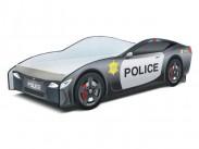 Cars - Dětská postel (policie)