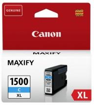 Cartridge Canon PGI-1500XL C, 9193B001, azurová