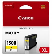 Cartridge Canon PGI-1500XL Y, 9195B001, žlutá