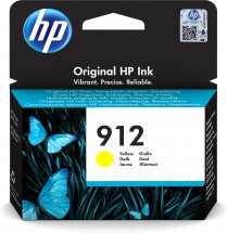 Cartridge HP 3YL79AE, 912, žlutá