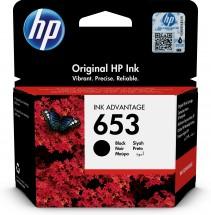 Cartridge HP 3YM75AE, 653, černá