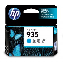 Cartridge HP C2P20AE, 935, azurová