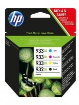 Cartridge HP C2P42AE, černá/933XL, 932XL, čtyřbalení,CMYK