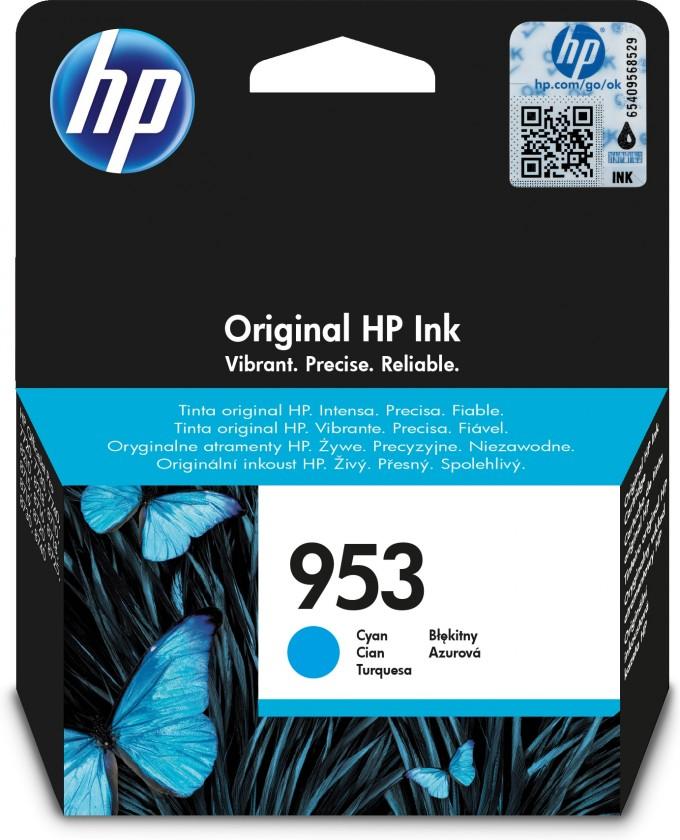 Cartridge HP Cartridge HP F6U12AE, 953, azurová