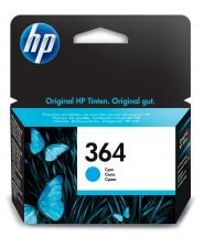 Cartridge HP CB318EE, 364, azurová