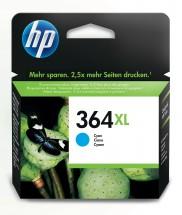 Cartridge HP CB323EE, 364XL, azurová