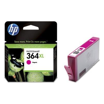 Cartridge HP CB324EE, 364XL, purpurová