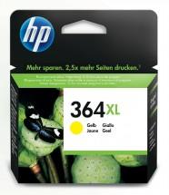 Cartridge HP CB325EE, 364XL, žlutá