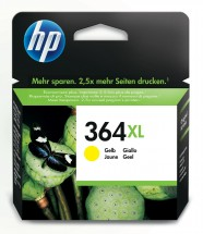 Cartridge HP CB325EE, 364XL, žlutá