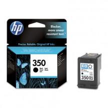 Cartridge HP CB335EE, 350, černá