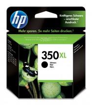 Cartridge HP CB336EE, 350XL, černá
