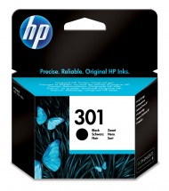 Cartridge HP CH561EE, 301, černá