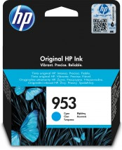 Cartridge HP F6U12AE, 953, azurová