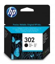 Cartridge HP F6U66AE, 302, černá