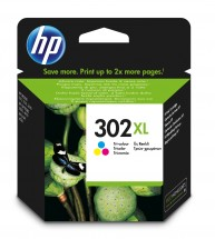 Cartridge HP F6U67AE, 302XL, Tri-color