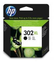 Cartridge HP F6U68AE, 302 XL, černá
